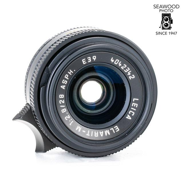 Leica LEICA 28MM F/2.8 ASPH. ELMARIT-M BLACK (6-BIT CODED) #11606 EXCELLENT