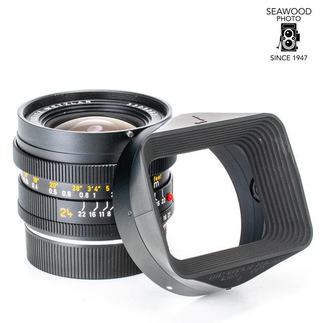 Leica Leica Elmarit - R 24mm f2.8 3-CAM EXCELLENT