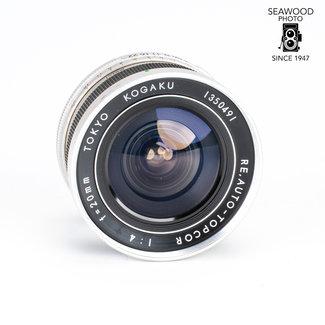 Topcon Topcon 20mm f/4 RE Auto Topcor GOOD