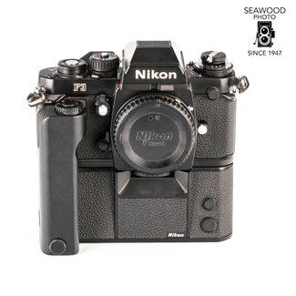Nikon Nikon F3 Body w/MD-4 Motor Drive Like New!  EXCELLENT