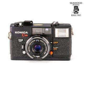 Konica Konica C35-MF w/38mm f/2.8 Hexanon Lens GOOD