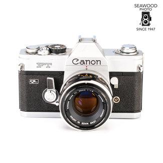Canon Canon FT QL SLR w/ 50mm 1.8 - GOOD+