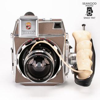 Linhof Complete Linhof Technika Press Kit  3 Lenses + Extras GOOD+