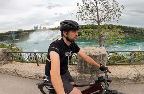 From Toronto to Niagra Falls (and back) on one charge? No problem!