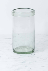 Canvas Home Recycled Glass Cylinder Vase - Large