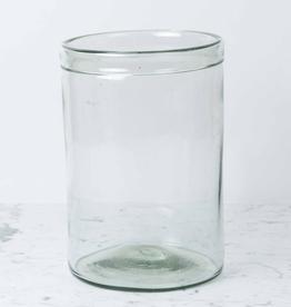 Recycled Glass Cylinder Vase - Extra Large