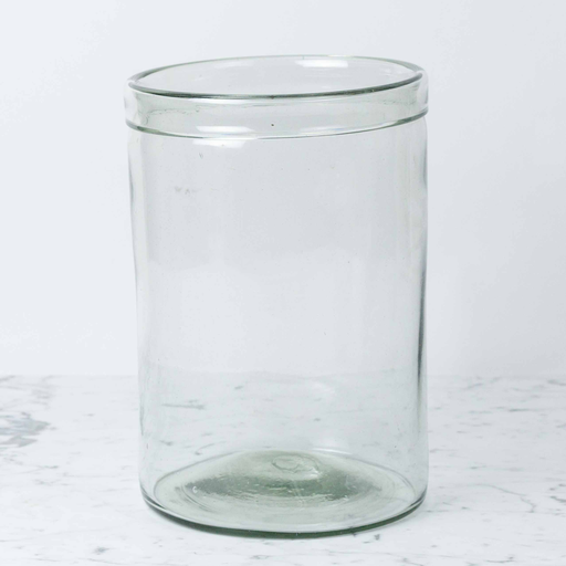 Recycled Glass Cylinder Vase - Extra Large