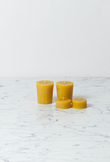 Old Mill Candles Beeswax Flat Top Votive