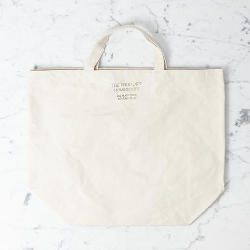 Equinox Canvas The Foundry Home Goods Canvas Tote Organic Cotton