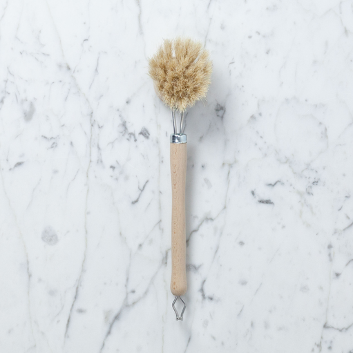 Iris Hantverk Swedish Everyday Dishbrush with Replaceable Head - Soft Bristle