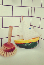 Iris Hantverk Swedish Stand Up Bath Tub Cleaning Brush - Birch