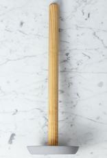 Iris Hantverk Birch Toilet Paper Holder - Light Grey Concrete