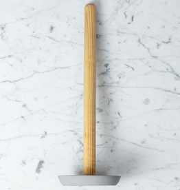 Iris Hantverk Birch Toilet Paper Holder - Light Grey Concrete