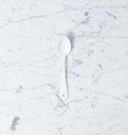 Saikai Toki White Enamel Tea Spoon
