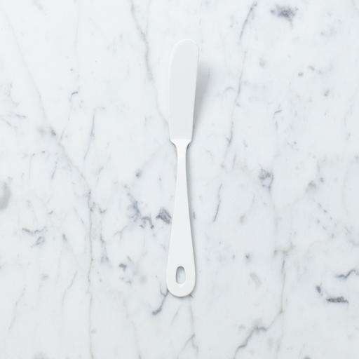 Saikai Toki White Enamel Butter or Cheese Knife