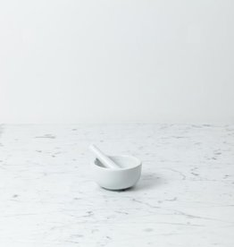Down to Earth Porcelain Mortar and Pestle - Medium - 3 1/2