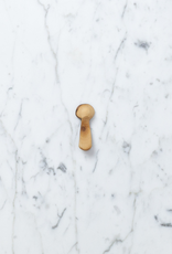 Olivewood Flat Handle Tiny Tasting Spoon