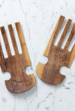 Olivewood Salad Tossing Hand Claws