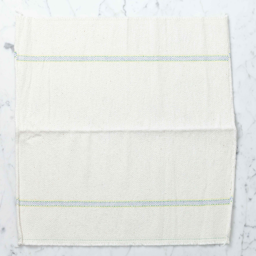 German Small Cleaning Cloth - Blue and Yellow Stripes