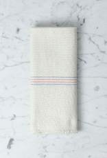 German Large Cleaning Cloth - Red and Blue Stripes