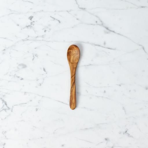 Olive Wood Baby or Small Coffee Stirring Spoon - 5.25 in.