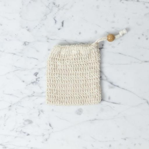 Soap Pouch For Soap Remains -Loofa Wash Cloth