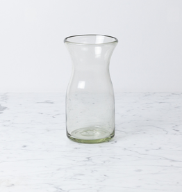 Handblown Glass Carafe - Tall