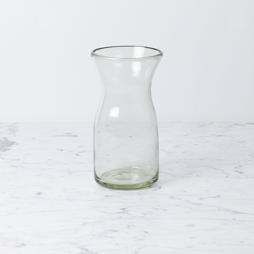 Handblown Glass Carafe - Tall - 1 1/2 Liters