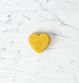 Old Mill Candles Beeswax Heart Votive