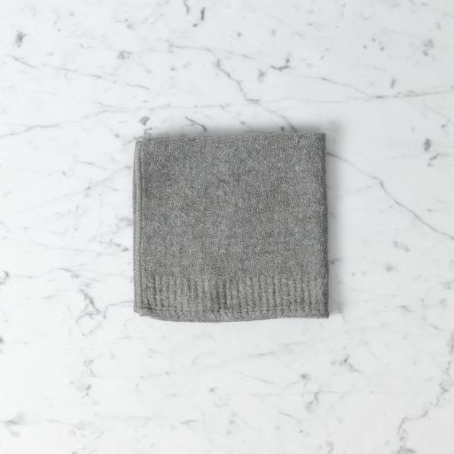 Japanese Cotton Lana Grey Washcloth