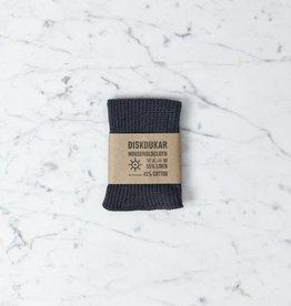Iris Hantverk Linen and Cotton Household Cloth - Graphite