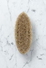 Iris Hantverk Swedish Handleless Oval Bath and Dry Body Brush - Horsehair
