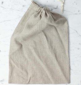Lakeshore Linen Natural Linen Bread Bag - Long
