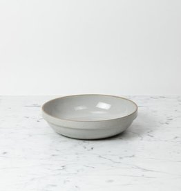 "PREORDER Hasami Porcelain Round Bowl - Large - Gloss Grey - 8 1/2"" x 2"""
