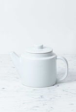 Everyday Tea Pot with Strainer - White