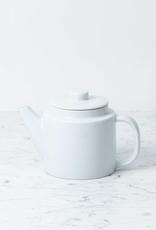 Saikai Toki Everyday Tea Pot with Strainer - White