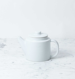 Japanese Everyday Common Teapot with Strainer - White
