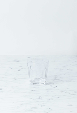 Saikai Toki Simple Faceted Glass Tumbler - Clear - 6oz
