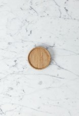 "Hasami Ash Wood Round Tray - Tiny - 3 1/4"" x 3/4"""