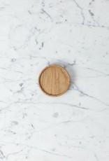 """PREORDER Hasami Ash Wood Round Tray - Tiny - 3 1/4"""" x 3/4"""""""