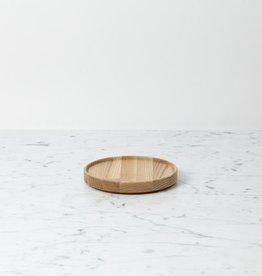 "PREORDER Hasami Ash Wood Round Tray - Extra Small - 5 1/2"" x 3/4"""