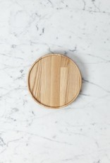 "PREORDER Hasami Ash Wood Round Tray - Extra Small - 5 1/2"" x 3/4"""