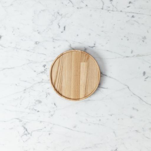 """Hasami Ash Wood Round Tray - Extra Small - 5 1/2"""" x 3/4"""""""
