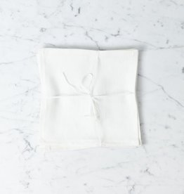 Lakeshore Linen Lunch Napkin - White - 13 x 13 in.