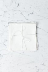 Lakeshore Linen Snack Napkin - White - 8 x 8 in.