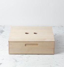 Iris Hantverk Swedish Birch Bread Box Top - 12 x 12 in.