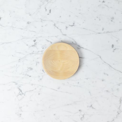 Iris Hantverk Oiled Birch Plate - Large - 5.5 in.
