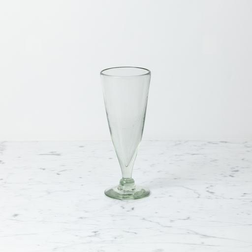 Handblown Cone Pilsner Glass
