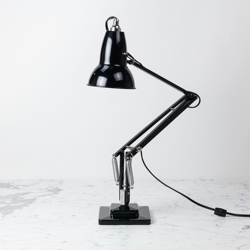 Anglepoise PREORDER Original 1227 Desk Lamp - Jet Black with Chrome