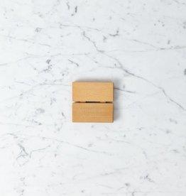 Saikai Toki Red Pine Soap Dish - Short